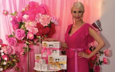 Розово масло, розова вода и чисто злато са тайните съставки в Дони Козметикс  на Мисис Баба Вселена