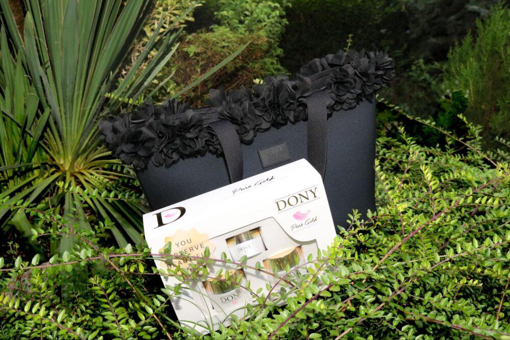 Miami Bag M size и Pure Gold set