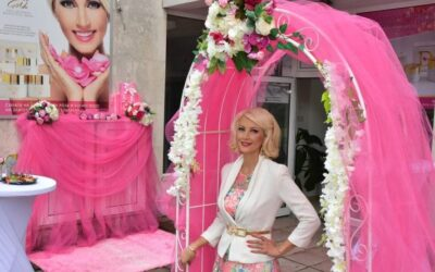 Opening of the DONY cosmetics showroom